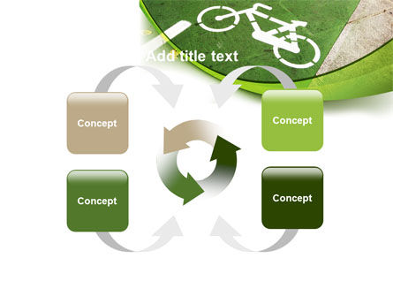 Bicycle Zone PowerPoint Template Slide 6