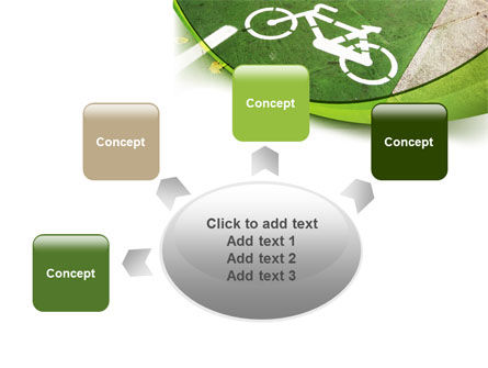 Bicycle Zone PowerPoint Template Slide 7