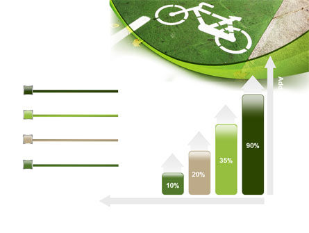 Bicycle Zone PowerPoint Template Slide 8