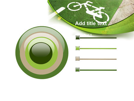 Bicycle Zone PowerPoint Template Slide 9