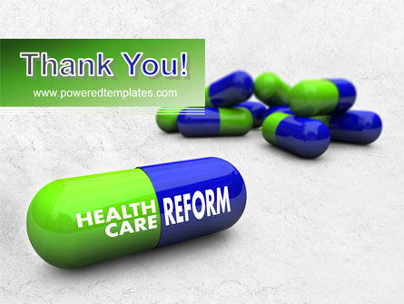 Health Care Reform PowerPoint Template Slide 20