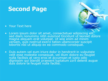 Airlines PowerPoint Template, Slide 2, 07964, Careers/Industry — PoweredTemplate.com