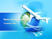 Careers/Industry: Airlines PowerPoint Template #07964