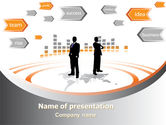 Consulting: Modello PowerPoint - Costruzione di affari #07965