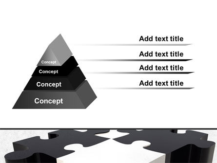 Assembled Puzzle PowerPoint Template Slide 4