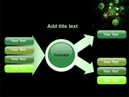 Green Bubbles Abstract PowerPoint Template Slide 14