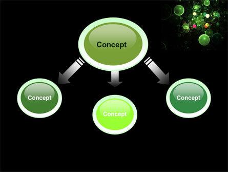 Green Bubbles Abstract PowerPoint Template Slide 4
