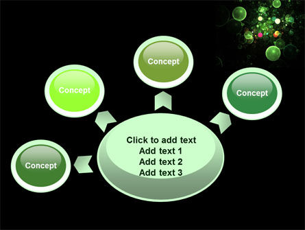 Green Bubbles Abstract PowerPoint Template Slide 7