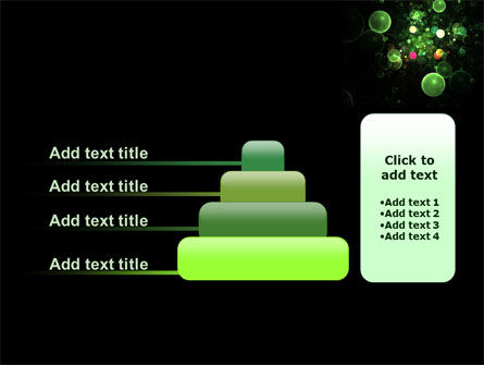 Green Bubbles Abstract PowerPoint Template Slide 8