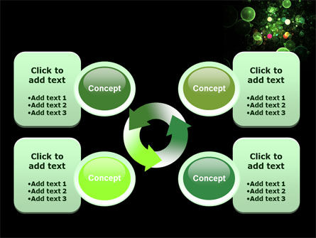 Green Bubbles Abstract PowerPoint Template Slide 9