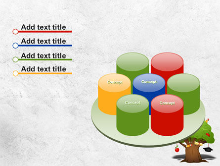 Education Tree PowerPoint Template Slide 12