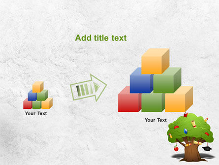 Education Tree PowerPoint Template Slide 13