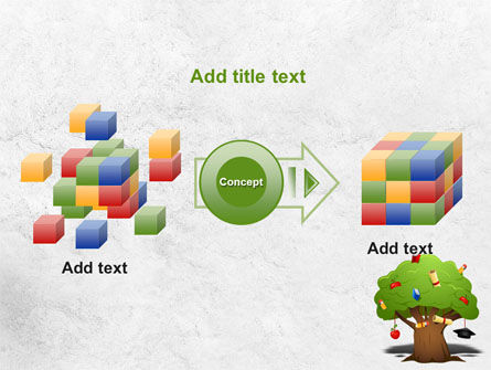 Education Tree PowerPoint Template Slide 17