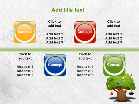 Education Tree PowerPoint Template Slide 18