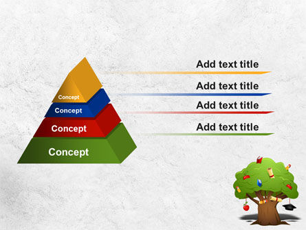 Education Tree PowerPoint Template, Slide 4, 07970, Education & Training — PoweredTemplate.com