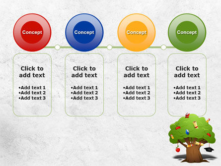 Education Tree PowerPoint Template Slide 5