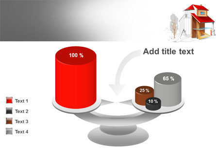 House Project PowerPoint Template Slide 10