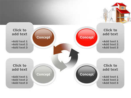 House Project PowerPoint Template Slide 9