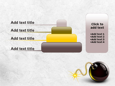 Bomb With Burning Wick Free PowerPoint Template Slide 8