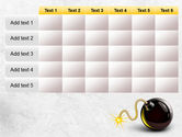 Bomb With Burning Wick Free PowerPoint Template#15