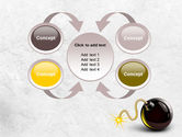 Bomb With Burning Wick Free PowerPoint Template#6