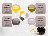 Bomb With Burning Wick Free PowerPoint Template#9