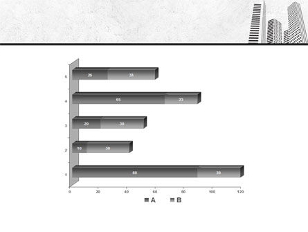 Gray Skyscrapers Free PowerPoint Template Slide 11