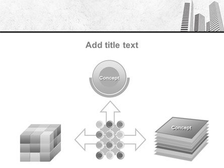 Gray Skyscrapers Free PowerPoint Template Slide 19