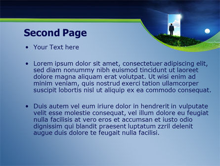 Between Nigh And Day PowerPoint Template, Slide 2, 07976, Consulting — PoweredTemplate.com