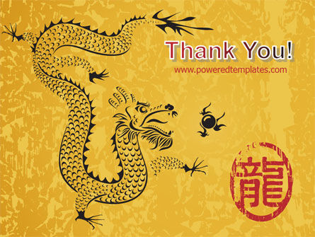 Chinese Dragon PowerPoint Template Slide 20