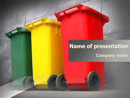 Recycling Business PowerPoint Template, 07987, Nature & Environment — PoweredTemplate.com