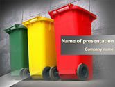 Nature & Environment: Recycling Business PowerPoint Template #07987