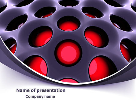 Hi-Tech Design PowerPoint Template, 07988, 3D — PoweredTemplate.com