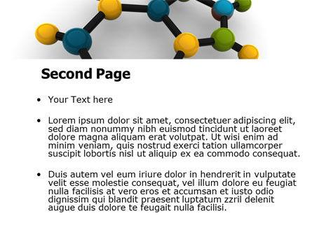 Molecule PowerPoint Template Slide 2
