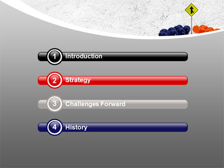 Two Teams PowerPoint Template, Slide 3, 07992, Business Concepts — PoweredTemplate.com