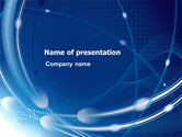 Abstract/Textures: Orbital PowerPoint Template #07993