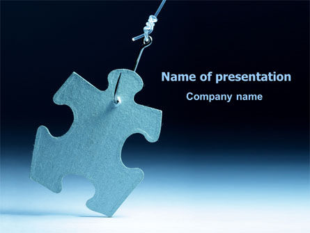 Jigsaw Piece PowerPoint Template, 07997, Consulting — PoweredTemplate.com