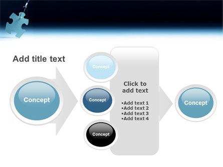 Jigsaw Piece PowerPoint Template Slide 17