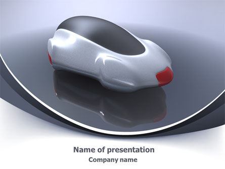 Careers/Industry: Concept Car PowerPoint Template #07998