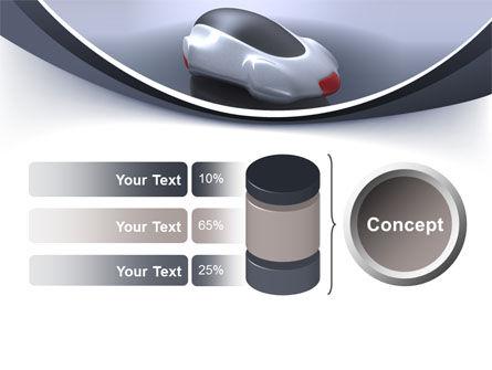 Concept Car PowerPoint Template Slide 11