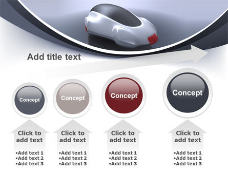 Concept Car PowerPoint Template Slide 13