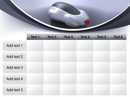 Concept Car PowerPoint Template Slide 15