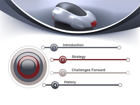Concept Car PowerPoint Template Slide 3