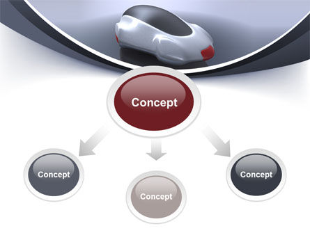 Concept Car PowerPoint Template Slide 4