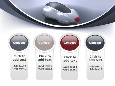 Concept Car PowerPoint Template Slide 5