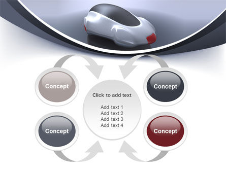 Concept Car PowerPoint Template Slide 6