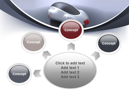 Concept Car PowerPoint Template Slide 7