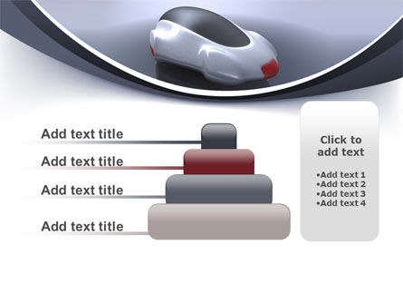 Concept Car PowerPoint Template Slide 8