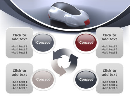 Concept Car PowerPoint Template Slide 9