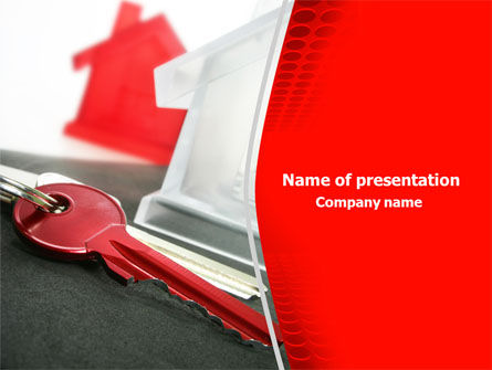 Realty Market PowerPoint Template, 07999, Real Estate — PoweredTemplate.com